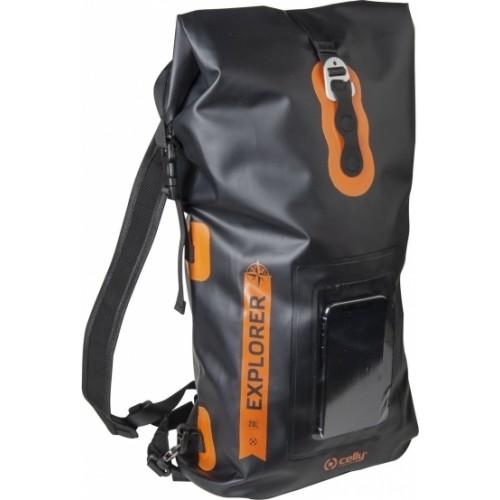 Celly Explorer Drybag με Θέση για Smartphone έως 6.5'' Μαύρη 20lt