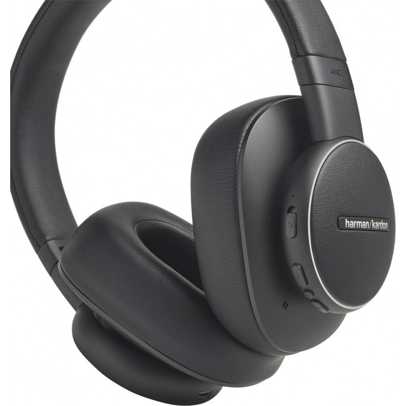 HARMAN KARDON FLY ANC BLUETOOTH HEADPHONES black