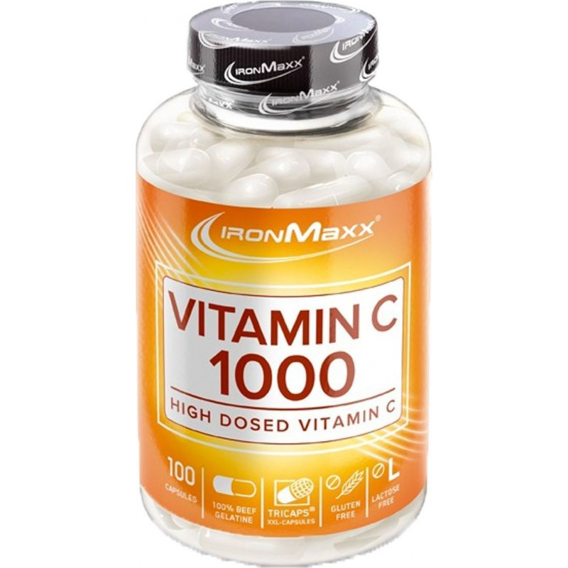 IronMaxx Vitamin C 1000 (100 Caps)