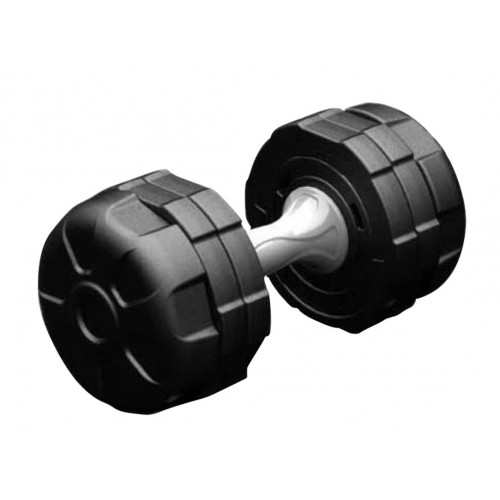 ADJUSTABLE DUMBBELLS SET 4.8/7/10 KGS